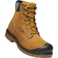 """Keen Men's Baltimore 6"""" Waterproof Steel Toe Work Boot"""