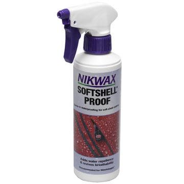 Nikwax SoftShell Proof Spray-On Waterproofing Spray - 10 oz.