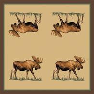 Park Designs Juniper Moose Beverage Paper Napkin