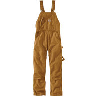 Carhartt Women's Weathered Duck Unlined Wildwood Bib Overall