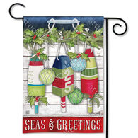 BreezeArt Seas And Greetings Decorative Garden Flag