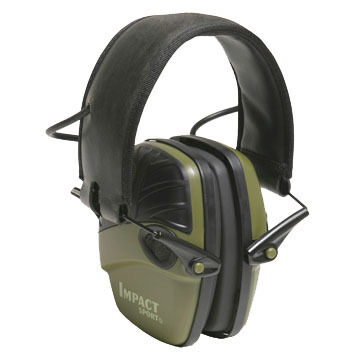 Howard Leight Impact Sport Color Electronic Ear Muff Hearing Protector