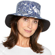 Coolibar Women's Reversible Pool UPF 50+ Hat