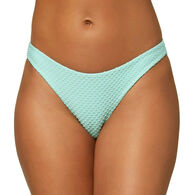 O'Neill Women's Rockley Saltwater Solids Textured Classic Bikini Bottom