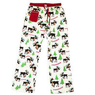 Lazy One Junior's Mooseltoe Christmas Fitted PJ Pant