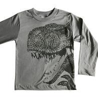 Spudz Boys' T-Rex Long-Sleeve T-Shirt