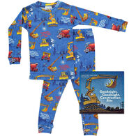 Books to Bed Goodnight, Goodnight, Construction Site Pajamas & Book Set