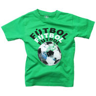 Wes And Willy Boy's Futbol Short-Sleeve T-Shirt
