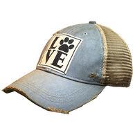 Vintage Life Women's Love Paw Trucker Hat