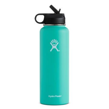 Hydro Flask 40 oz. Wide Mouth Insulated Bottle w/ Straw Lid