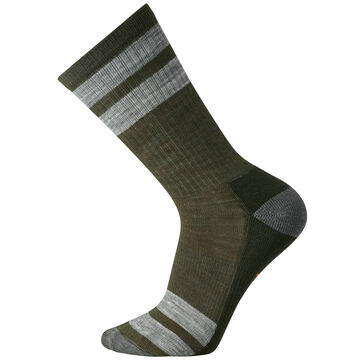 SmartWool Mens Striped Hike Light Crew Sock - Special Purchase