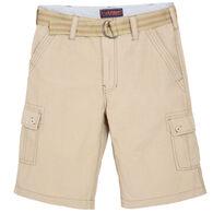 Wear First Men's Belted Cargo Short