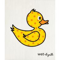 Wet-it! Swedish Cloth - Yellow Duckie