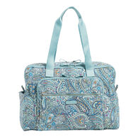 Vera Bradley Signature Cotton Deluxe Weekender 34 Liter Travel Bag