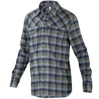 Ibex Men's Taos Plaid Wool Long-Sleeve Shirt