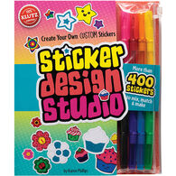 Klutz Sticker Design Studio Craft Kit by Karen Phillips