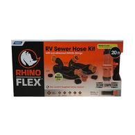 Camco RhinoFLEX RV Sewer Hose Kit - 20 Ft.