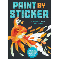 Workman Publishing Paint by Sticker: Create 12 Masterpieces One Sticker at a Time!