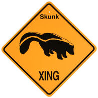 KC Creations Skunk XING Sign