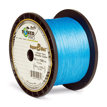 PowerPro Super 8 Slick Braided Saltwater Fishing Line - 150 Yards