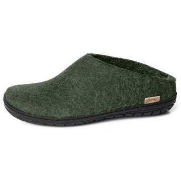 Glerups Unisex Felt Shoe Slipper w/Rubber Sole