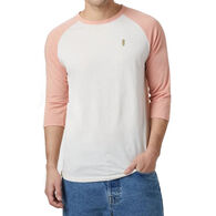 tentree Men's Nature is Rad Planter Henley Long-Sleeve T-Shirt