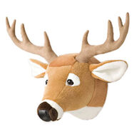 Stuffed Animal House Whitetail Deer Junior Wall Toy