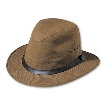 Filson Men's Tin Cloth Packer Hat