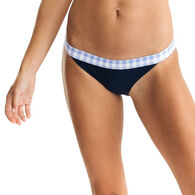 Southern Tide Women's Gingham Trim Bikini Bottom