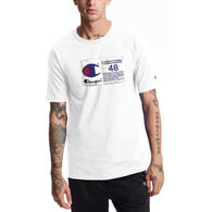 Champion Men's Heritage Jock Tag Short-Sleeve T-Shirt