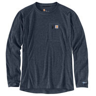 Carhartt Men's Base Force Heavyweight Poly-Wool Crew Neck Base Layer Top