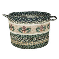 Capitol Earth Pinecone Braided Utility Basket