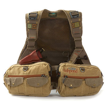 Fishpond Vaquero Waxed Canvas Fishing Vest
