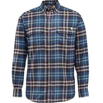 Wolverine Mens Escape Flannel Long-Sleeve Shirt