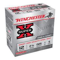 "Winchester Super-X Xpert Steel 12 GA 2-3/4"" 1 oz. #6 Shotshell Ammo (25)"