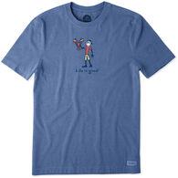 Life is Good Men's Big & Tall Lobster Jake Vintage Crusher Short-Sleeve T-Shirt