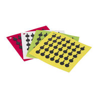 Lodge Silicone Square Trivets w/ Black Logo Skillet Design