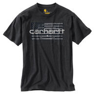 Carhartt Men's Big & Tall Lubbock Flag Graphic Short-Sleeve T-Shirt