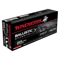 Winchester Ballistic Silvertip 223 WSSM 55 Grain Polymer Tip Rifle Ammo (20)