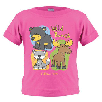 Stephen Joseph Infant/Toddler Girls' Outdoor Bunch Short-Sleeve T-Shirt