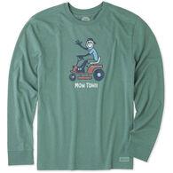 Life is Good Men's Mow Town Crusher Long-Sleeve T-Shirt