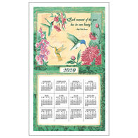 Kay Dee Designs 2020 Wings & Blossoms Calendar Towel