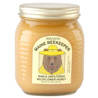 Swan's Maine Beekeeper Raw & Unfiltered Wildflower Honey - 2.5 lb.