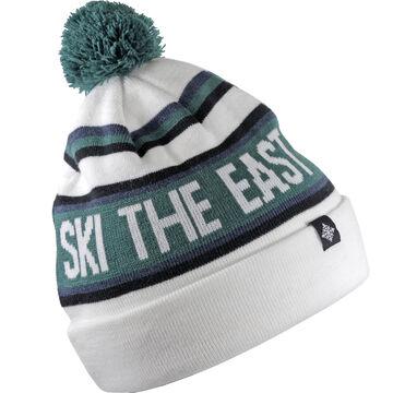 Ski The East Mens Tailgater Pom Beanie