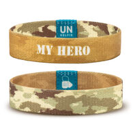 Unselfie Women's My Hero Camo Pattern Wrist Band
