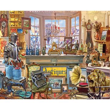 White Mountain Jigsaw Puzzle - Antique Shoppe