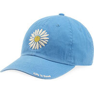 Life is Good Women's Marina Blue Daisy Chill Cap