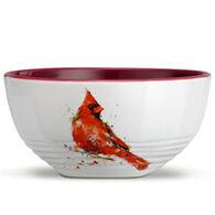 Big Sky Carvers Cardinal Soup Bowl