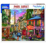 White Mountain Jigsaw Puzzle - Paris Sunset