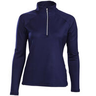 Descente Women's Gabby 1/4-Zip Baselayer Top
